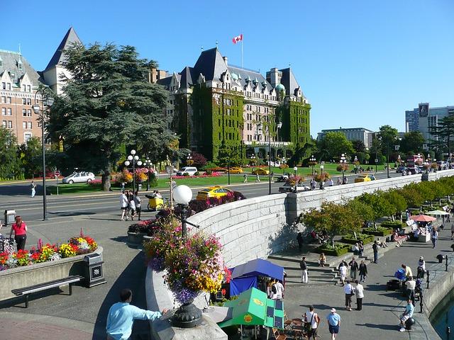 カナダに住む日本人が勧めるビクトリア観光スポット